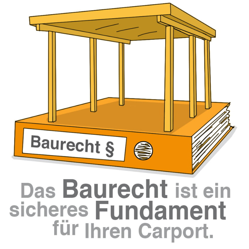 Das Baurecht ist ein sicheres Fundament für Ihren Carport