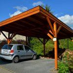 Dachneigung und Dacheindeckung beim Carport