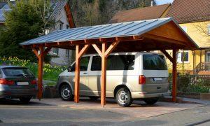 Das richtige Holz für den Carport