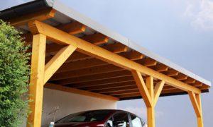 Einen Carport an eine Garage anbauen