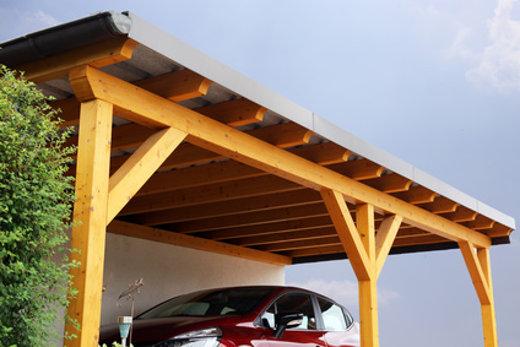 Carport aus Holz © U. J. Alexander, fotolia.com