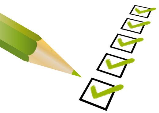 Checkliste © Shockfactor, fotolia.com