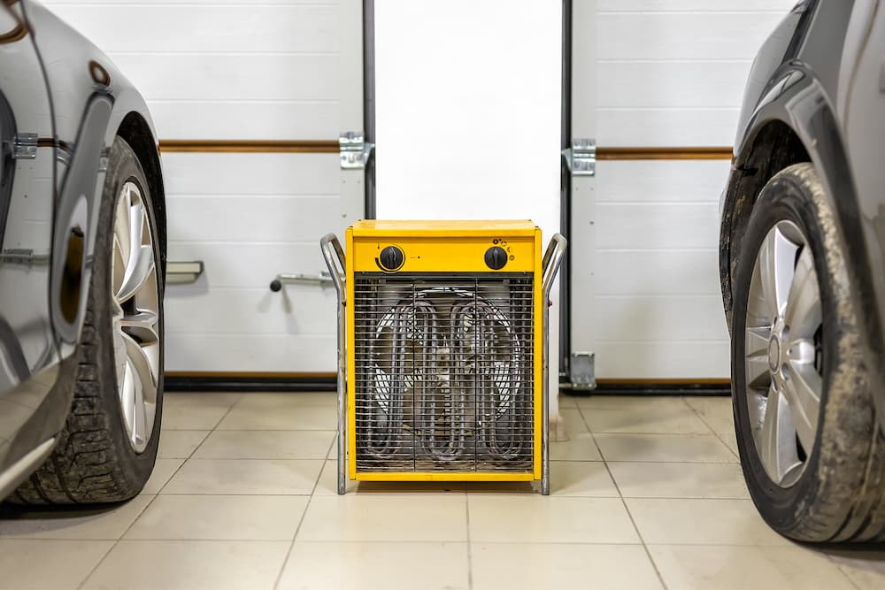 Elektroheizung in der Garage © Kirill Gorlov, stock.adobe.com