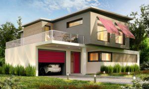 Garage mit Dachterrasse © slavun, fotolia.com
