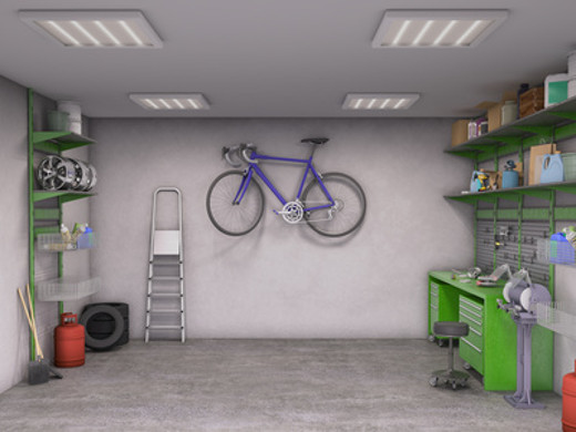 Captivating Garage Mit Lagersystem © Vipmann4, Fotolia.com