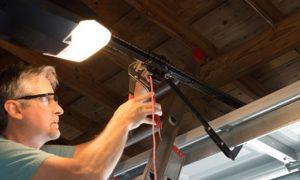 Beleuchtung Garage installieren © mokee81, fotolia.com