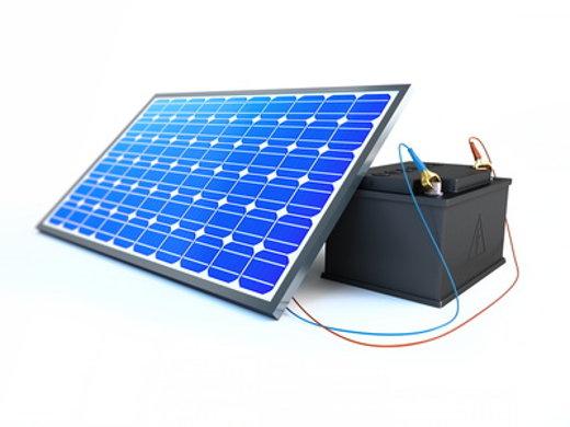 Photovoltaik: Strom speichern © 3desc, fotolia.com
