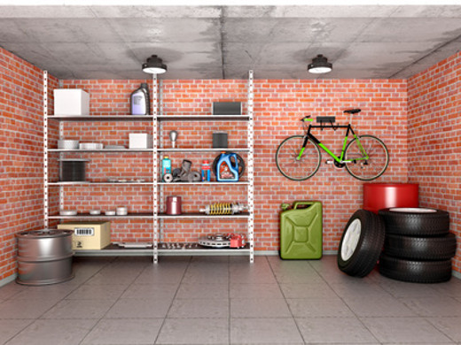 Regale in einer Garage © Sveta, fotolia.com