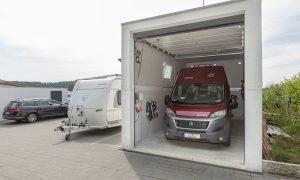 Wohnmobil Garage